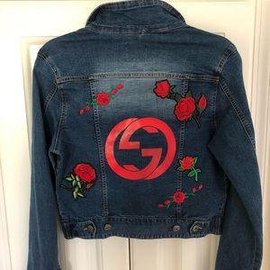 Jean custom Jacket